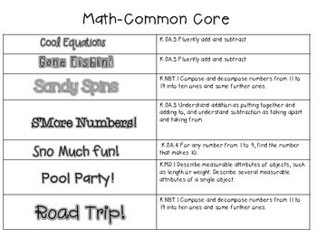 School's Almost Out for Summer! Literacy and Math Stations-CC 3
