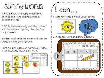 School's Almost Out for Summer! Literacy and Math Stations-CC 4