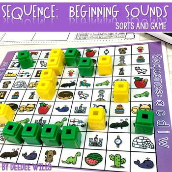Sequence Game Sets and Sorts for Beginning Sounds 1
