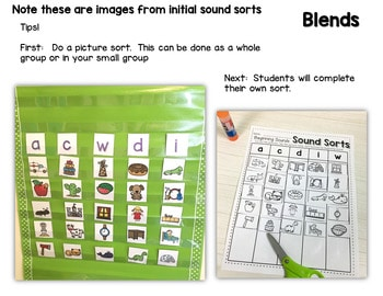Sequence Game Sets and Sorts for Beginning Sounds 2