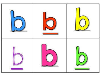 Sequence Game Sets and Sorts for lowercase letters 3