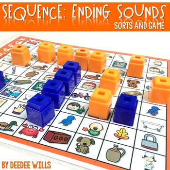 Sequence Game and Sorts for ending sounds 1