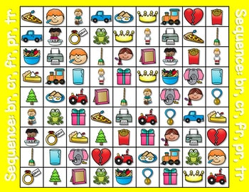 Sequence Game and Sorts for initial blends 2