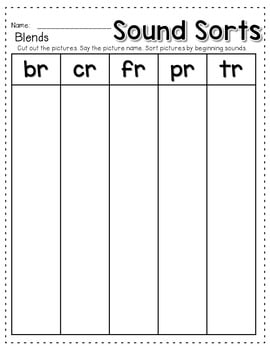 Sequence Game and Sorts for initial blends 4