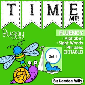 Sight Word Fluency BUGS! 1