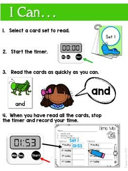 Sight Word Fluency BUGS! 2