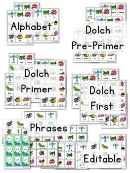 Sight Word Fluency BUGS! 3