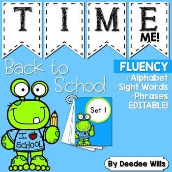 Sight Word Fluency Back to School 1