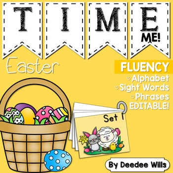 Sight Word Fluency Easter 1