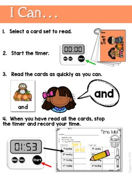 Sight Word Fluency Fall 2