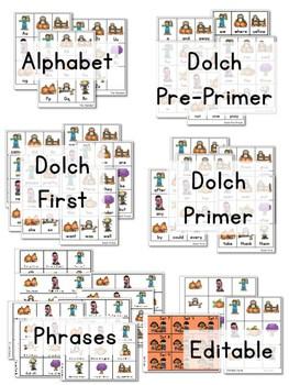 Sight Word Fluency Fall 3