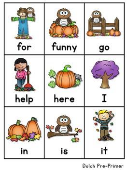 Sight Word Fluency Fall 4