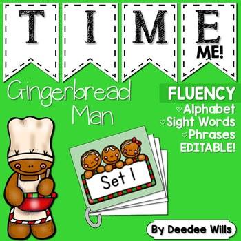 Sight Word Fluency Gingerbread 1