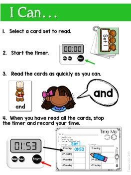 Sight Word Fluency Gingerbread 2
