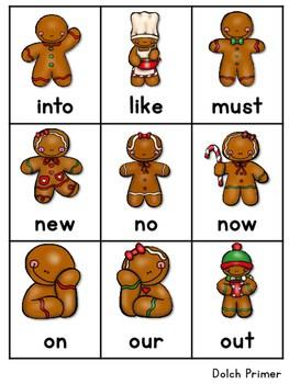 Sight Word Fluency Gingerbread 4