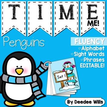 Sight Word Fluency Penguin 1