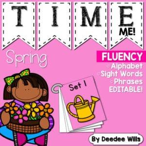 Sight Word Fluency Easter 8