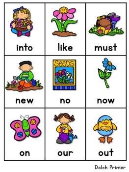 Sight Word Fluency Spring 4