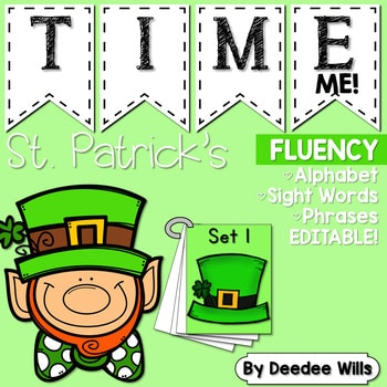 Sight Word Fluency St Patrick's Day 1