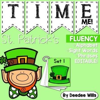 Sight Word Fluency St Patrick's Day 1