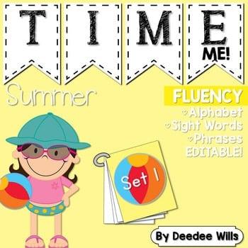 Sight Word Fluency Summer 1