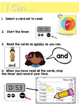 Sight Word Fluency Summer 2