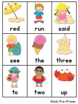 Sight Word Fluency Summer 4
