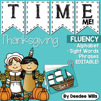 Sight Word Fluency Thanksgiving 1