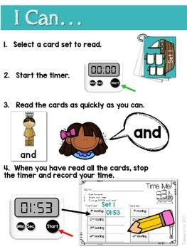 Sight Word Fluency Thanksgiving 2