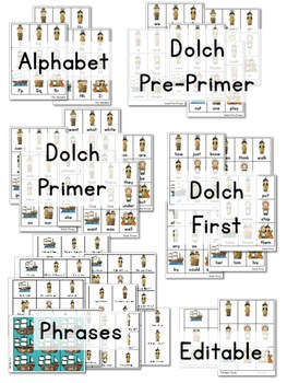 Sight Word Fluency Thanksgiving 3