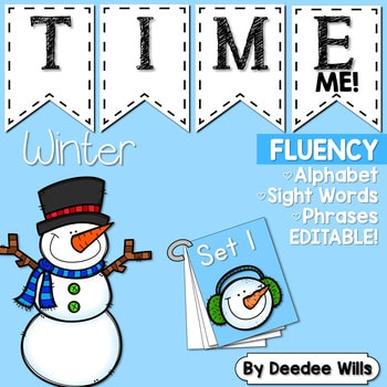 Sight Word Fluency Winter 1