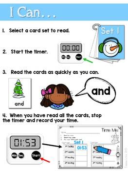 Sight Word Fluency Winter 2