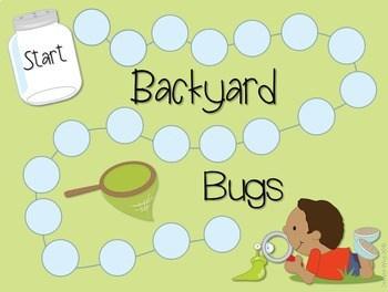 Sight Word Spelling Game ~ Backyard Bugs ~ editable 3