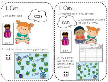 Sight Word Spelling Game ~ Fairy Tale ~ Editable 2