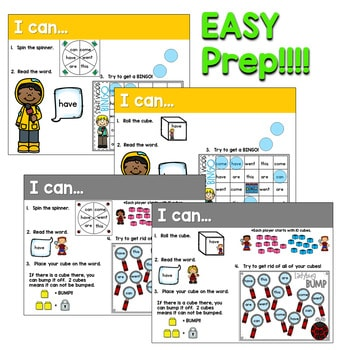 Sight Words Centers EDITABLE! March 3