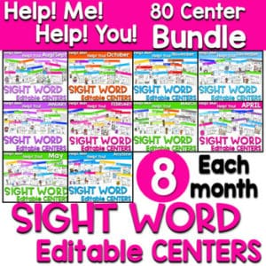 Not Your Mother's Sight Words (and Decodable Readers) 15