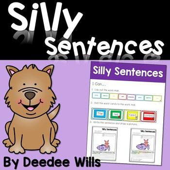 Silly Sentences: A Sentence Building Activity 1