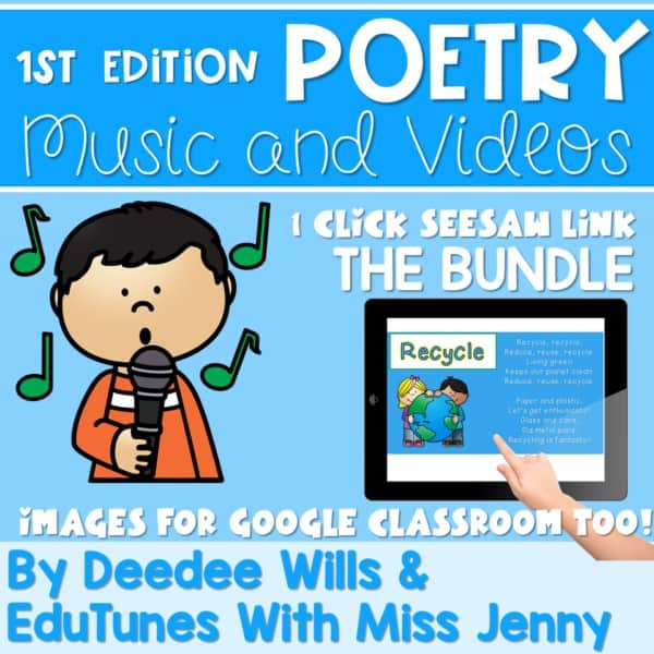 Seesaw Preloaded Poetry Music And Video Bundle 1