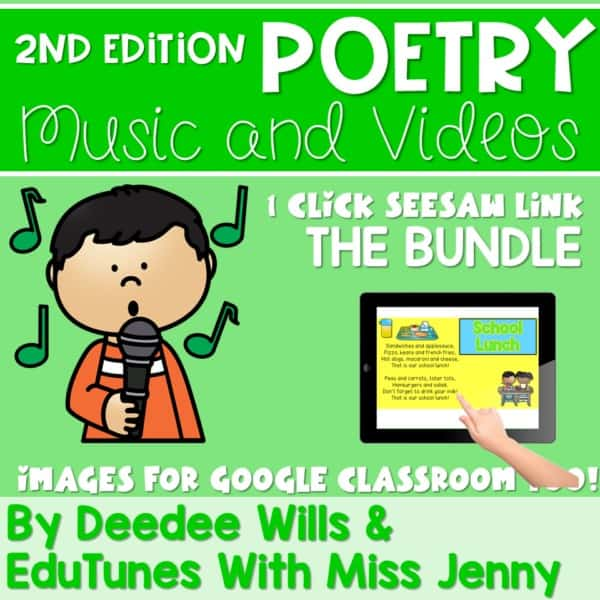Poetry 2 Music and Video Files BUNDLE 1