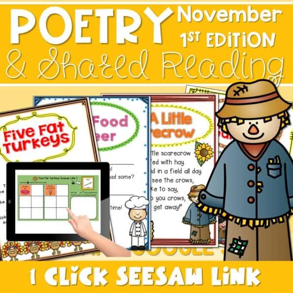 Poetry: Poems for November 1