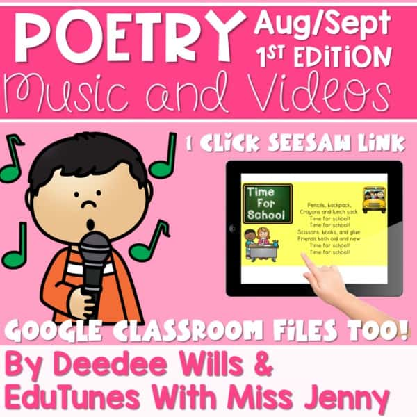 Poetry Music and Video August and September 1