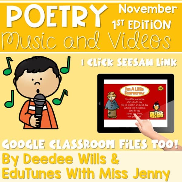 Poetry Music and Video November 1