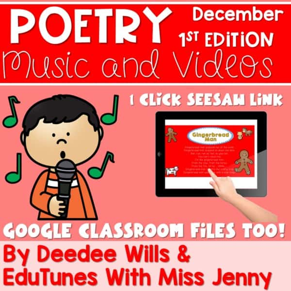 Poetry Music and Video December 1