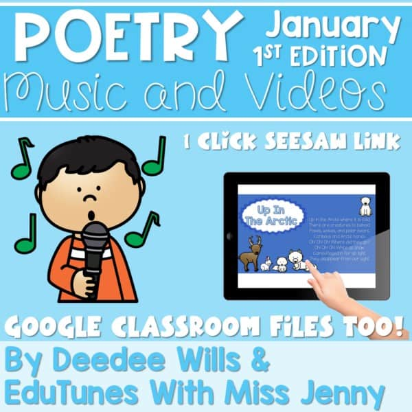 Poetry Music and Video January 1