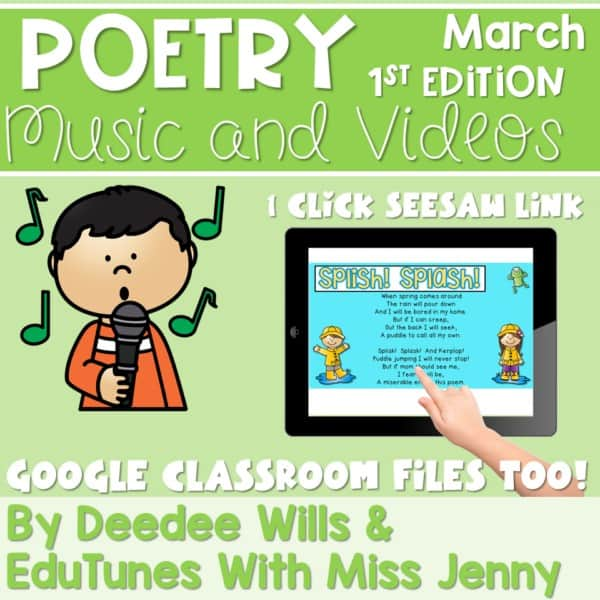 Poetry 1 Music and Video March 1
