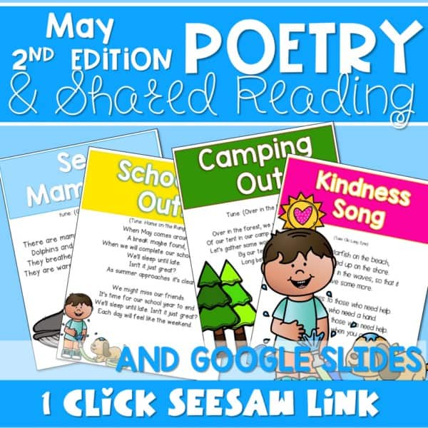 Poetry 2: Poems for May 1