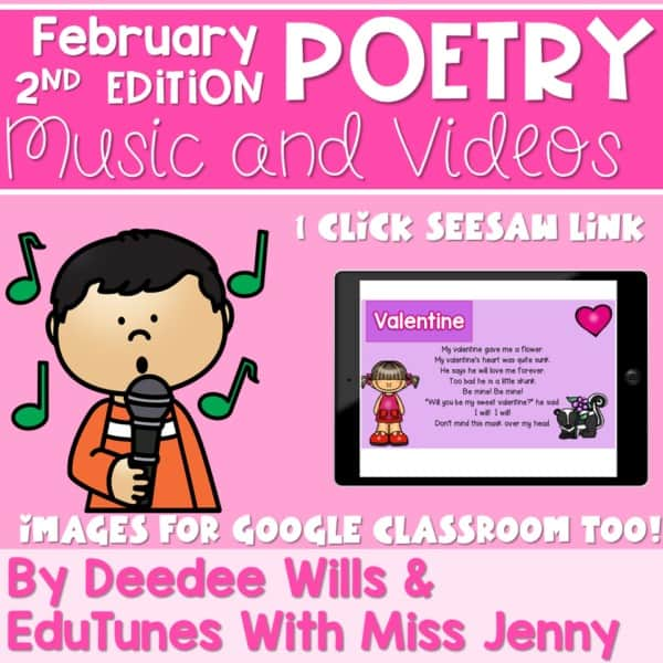 Poetry 2 Music and Video February 1