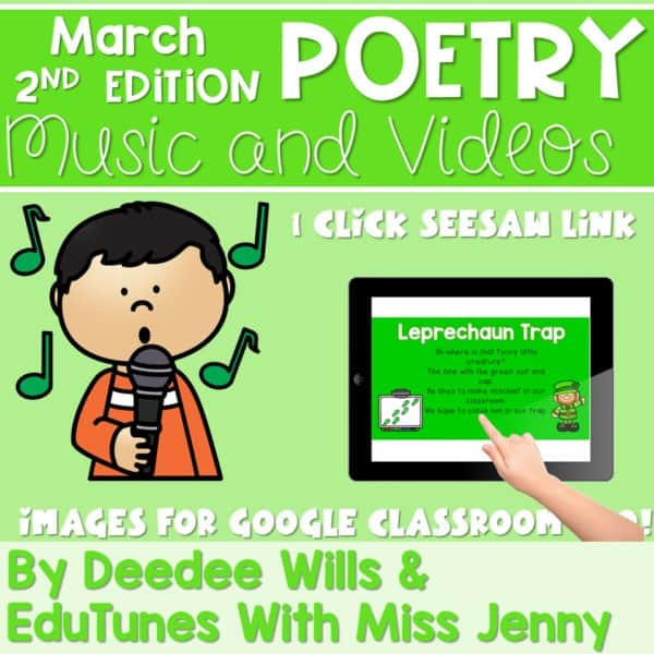 Poetry 2 Music and Video March 1