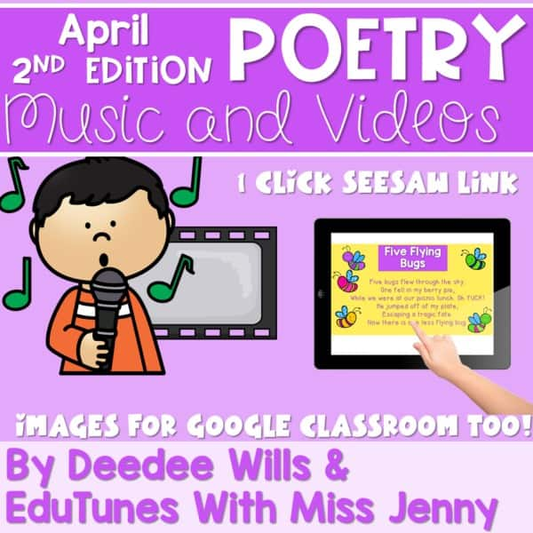 Poetry 2 Music and Video April 1