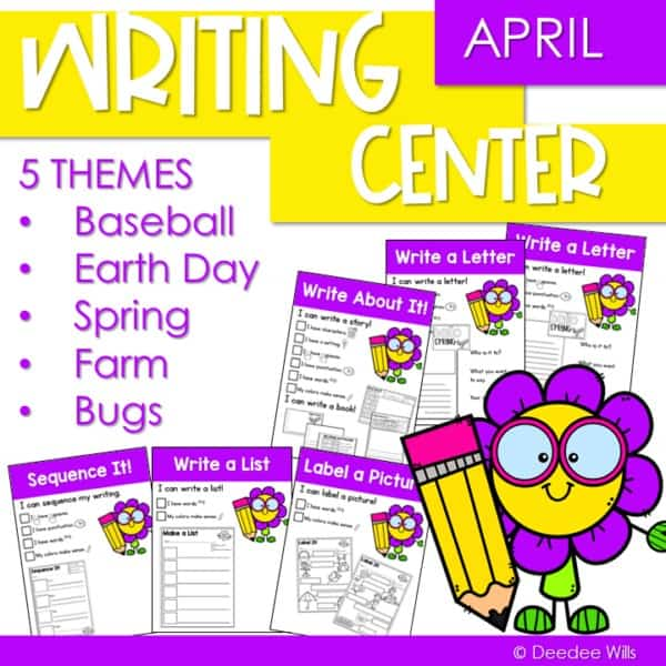 Writing Work for April 1